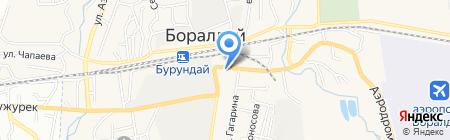 Боралдайский ремонтно-механический завод на карте Боралдая