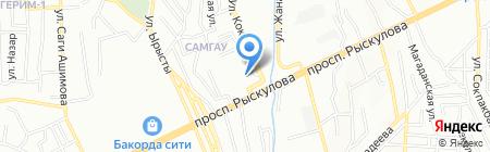 ИНВЕСТСТРОЙМОДУЛЬ-2030 на карте Алматы