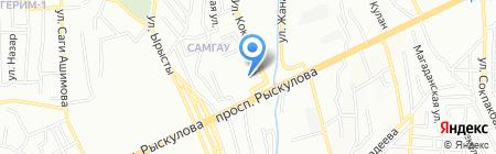 Д-Шанс на карте Алматы