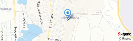 Ника на карте Боралдая