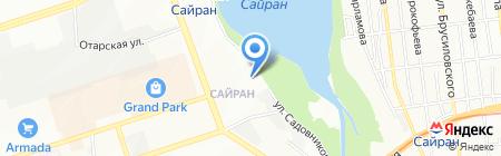 Алматы-Жалюзи-5 на карте Алматы