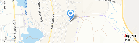 Алмас парикмахерская на карте Боралдая