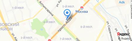 Нотариус Саргалдаков Ж.Ж. на карте Алматы