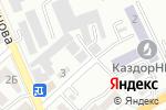 Схема проезда до компании Техно Сталь KZ в Алматы