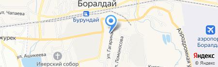 Непоседа на карте Алматы
