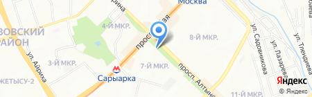Мика на карте Алматы