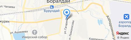 Самурык на карте Алматы