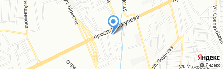 Автомир-ЯСО на карте Алматы