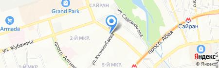 Abdi Company на карте Алматы
