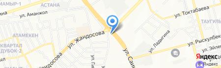 АжарСтройХолдинг ТОО на карте Алматы