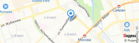 Детская музыкальная школа №7 им. Курмангазы на карте Алматы