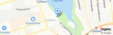 Engine-Service на карте Алматы