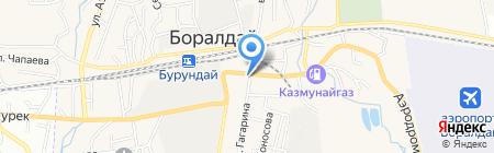 Цветочный магазин на карте Боралдая