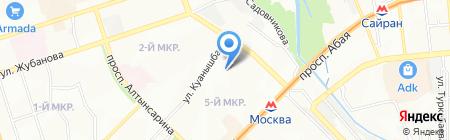 SAFE HOME на карте Алматы