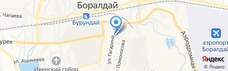 Лада на карте Алматы