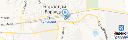 Мастерская по ремонту обуви на карте Боралдая