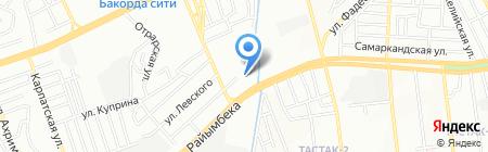 КаздорНИИ АО на карте Алматы