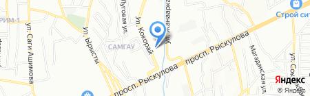 Общеобразовательная школа №41 им. Абдуллы Карсакбаева на карте Алматы