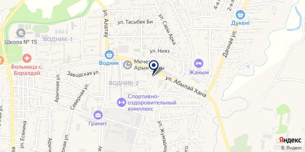 Автомагазин на карте Боралдае