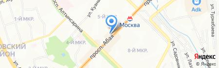 Кредо на карте Алматы