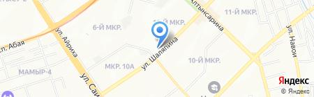 Alma Cash ТОО на карте Алматы