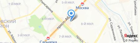 Око Алматы на карте Алматы