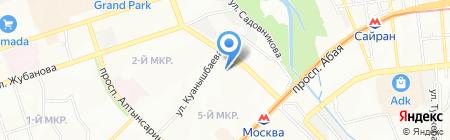 Барс продовольственный магазин на карте Алматы