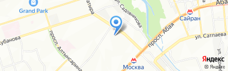 Дэнас МС на карте Алматы