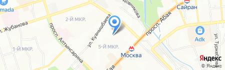 Детский сад №154 на карте Алматы