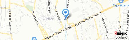 Red star logistics на карте Алматы