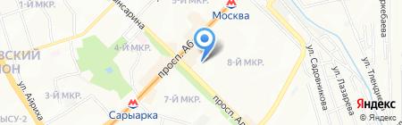 Сервис-Фарм на карте Алматы