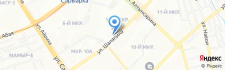 Кондоминиум на карте Алматы