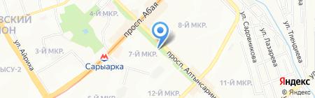 Эксперт Риэлти на карте Алматы