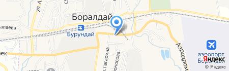 Банкомат Казкоммерцбанк на карте Боралдая