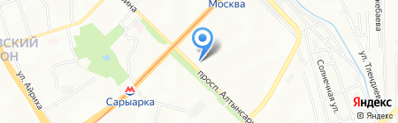 Maria на карте Алматы
