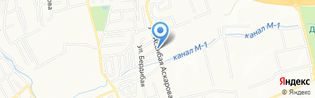 Адиль продуктовый магазин на карте Алматы