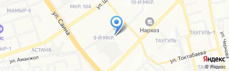 Сервисно-монтажная компания на карте Алматы
