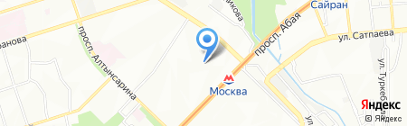 Ясли-сад №174 на карте Алматы