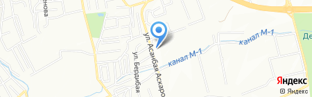 Адеми на карте Алматы