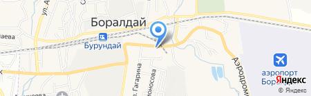 Парикмахерская на карте Боралдая
