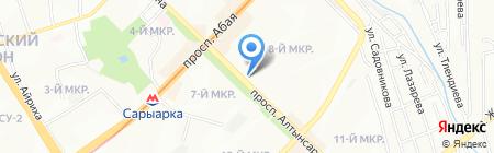 City Doner на карте Алматы