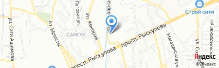 Люкспрокат на карте Алматы