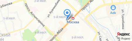 Мадиана на карте Алматы