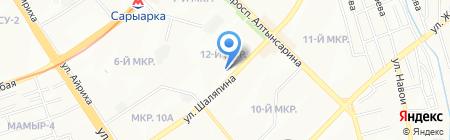 InBet на карте Алматы