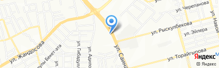 Абди Ибрахим Глобал Фарм на карте Алматы