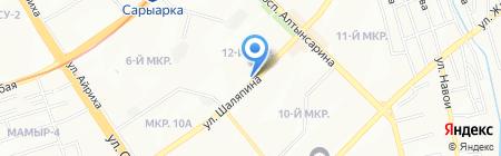 Quartet на карте Алматы