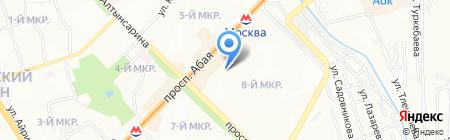 Знайка на карте Алматы