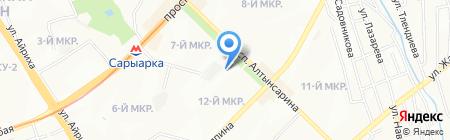 ПромСтройПроект на карте Алматы