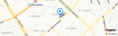 Платежный терминал Казахтелеком на карте Алматы
