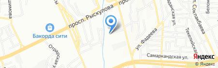 Алматыдорстрой на карте Алматы